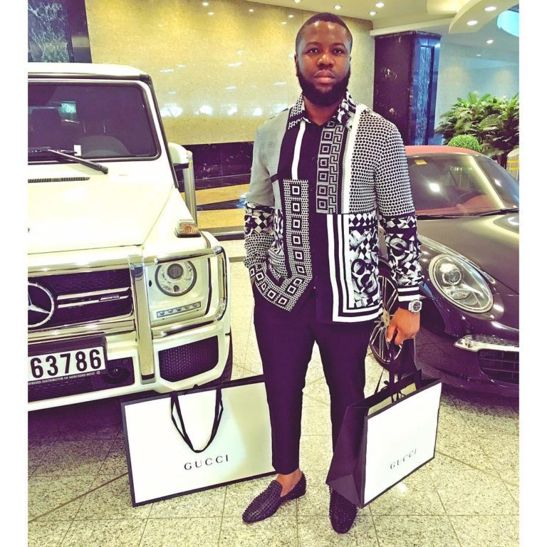 Hushpuppi opens up on his women & children