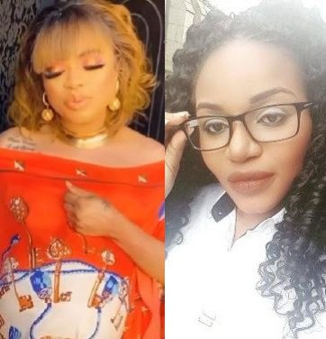 Bobrisky and an activist drag each other online on a photo showing he is pregnant (See Gbege)!