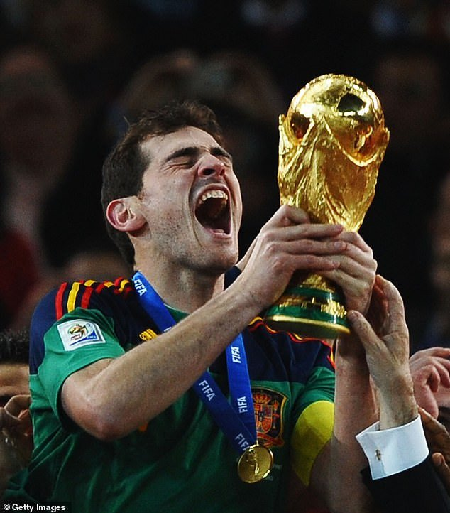 BREAKING: Iker Casillas announces his retirement from football 14 months after suffering a heart attack