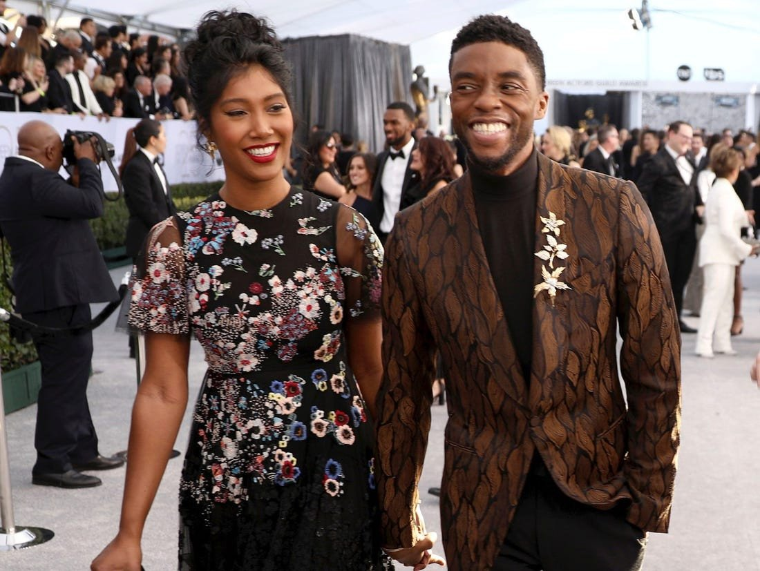 Late Black Panther star, Chadwick Boseman had no kid, secretly got married before his death