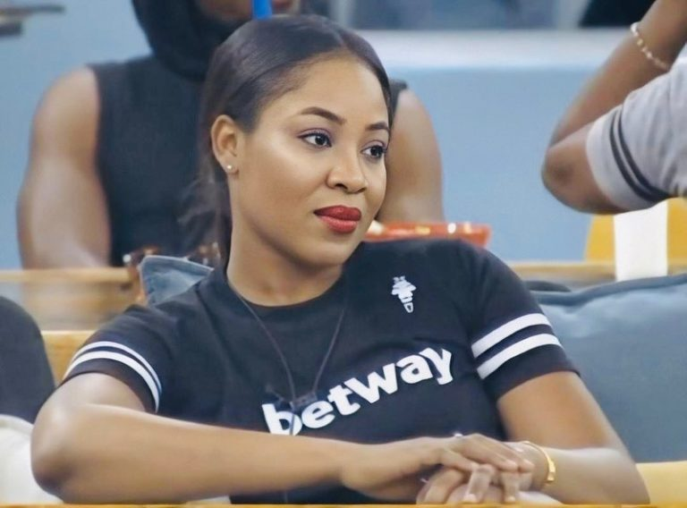 VIDEO: Mercy Eke breaks down in tears over Erica's disqualification
