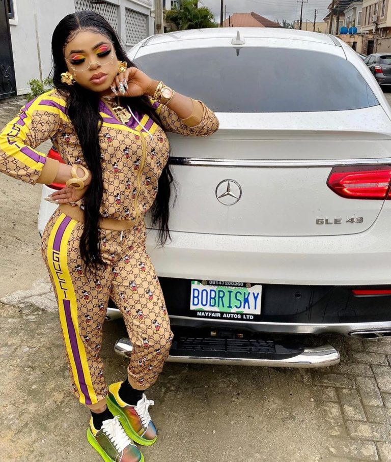 """""""I am not like those your IG audio big girl"""" – Bobrisky brags as he sends Erica the ₦1 million he promised her (Photos)"""