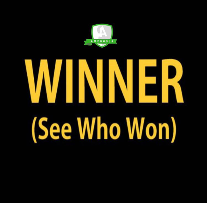 "WINNERS!!! See The Winners Of Our ""SATURDAY, 19th September 2020"" 10,000 Giveaway"