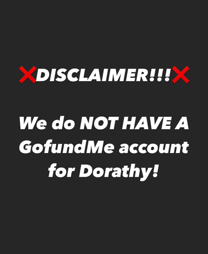 "Ex-BBNaija First Runner Up, Dorathy Raise Alarm – ""We Do Not Have Any Go-Fund Account"""