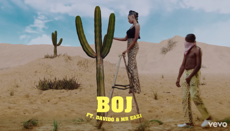 VIDEO: Boj ft DaVido & Mr Eazi – Abracadabra Mp4
