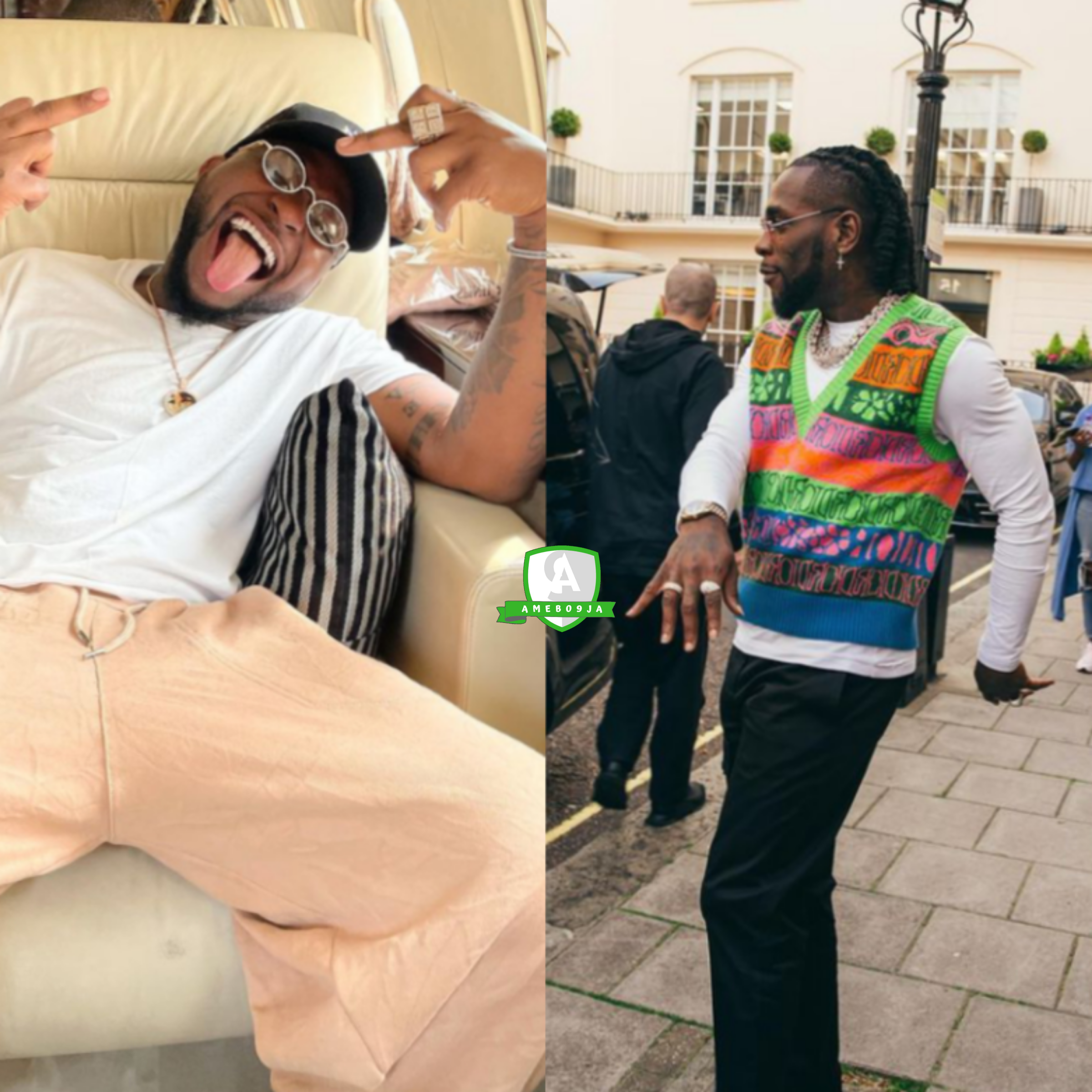 That Aweful Moment Davido And Burna Boy Fight In Ghana (Video)