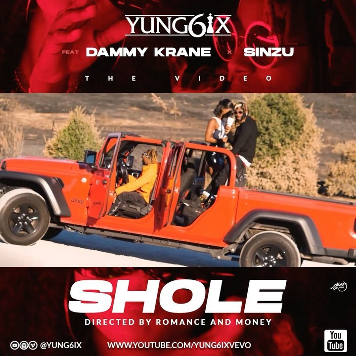 Yung6ix – Shole feat. Sinzu x Dammy Krane Mp3 Download