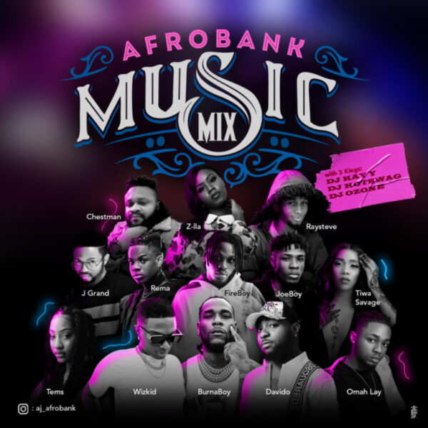 Afrobank 2021 New Year Mix Hosted by DJ Kay Y, DJ Hotswag, DJ Ozone