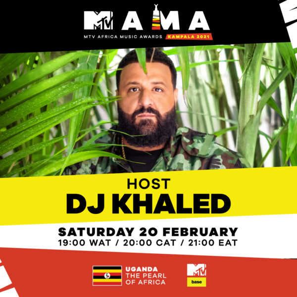DJ Khaled announced as International Host of the MAMAs Kampala 2021