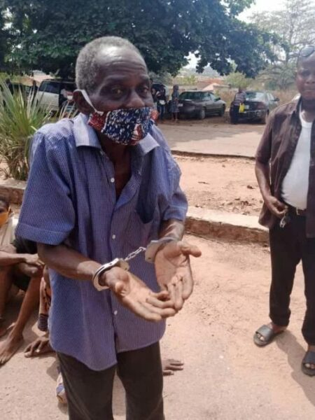 Pastor (72years) arrested for raping 13-year-old girl in Oyo