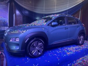 Photos Of The Newly Unveil First Locally-Assembled Electric Car In Nigeria