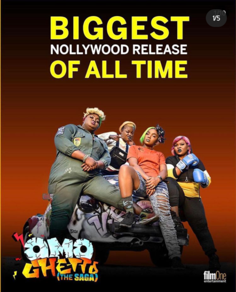 Omo Ghetto (The Saga) becomes the biggest Nollywood Released of all time