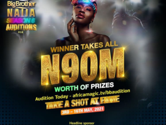 BBNaija Season 6 Auditions Is Ongoing From 3rd - 16th Of May
