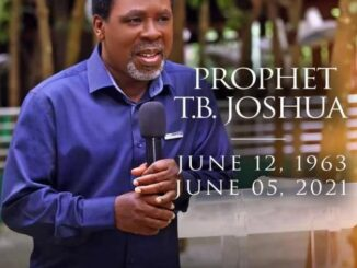 Prophet TB Joshua Biography: Wife, Children, Networth and Ministry