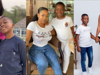 #BBNaija: Check out photos of new housemate, Jackie B with her son, Nathan