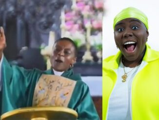 Wawu! Ghanaian Pastor makes church members sing to Teni's song during service